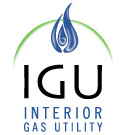 Interior Gas Utility Logo