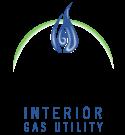 Interior Gas Utility Logo