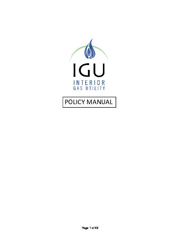 IGU Policy Manual.pdf