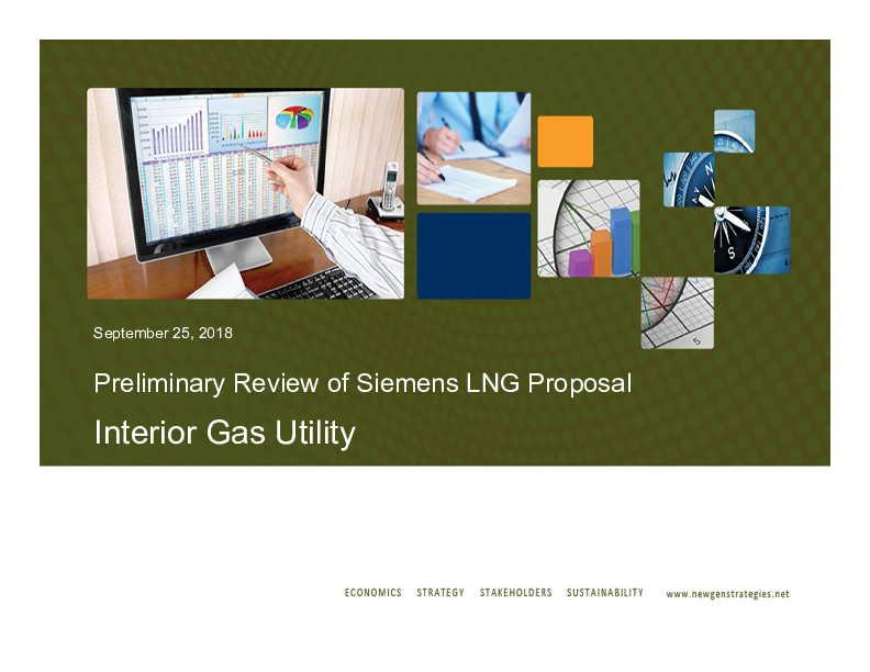 Preliminary Review of Siemens LNG Proposal