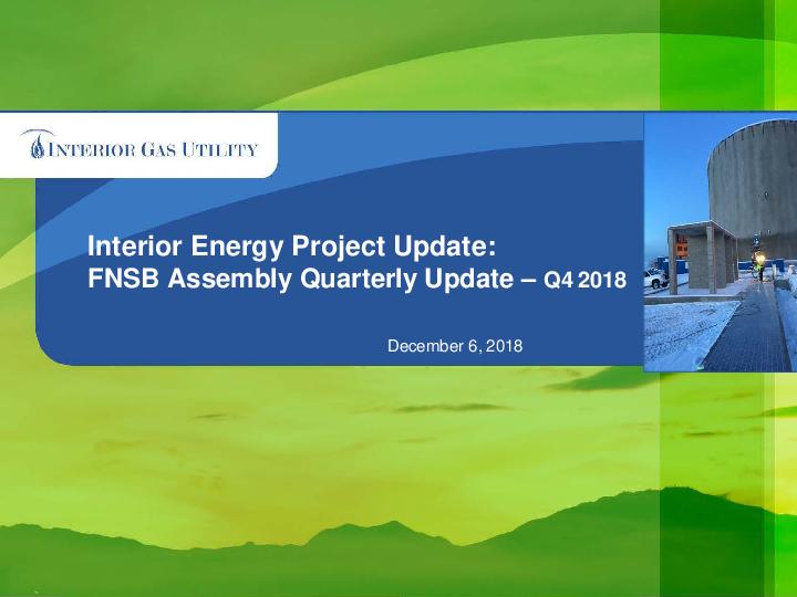 2018 Q3 FNSB Report