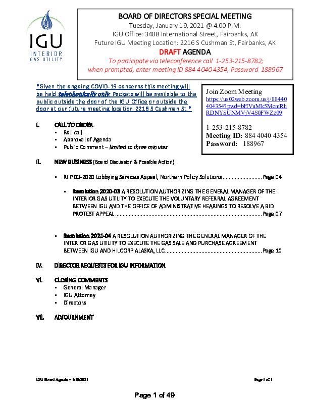 1_19_2021 IGU Special Board Meeting Packet.pdf