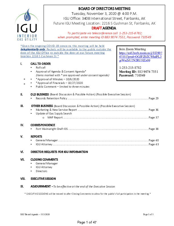 11_3_2020 IGU Board Meeting Packet.pdf