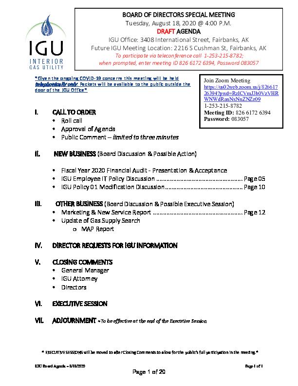 8_18_2020 IGU Special Meeting Packet.pdf