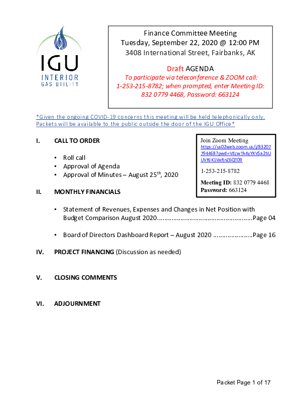 9_22_2020 IGU Finance Committee Meeting Packet.pdf