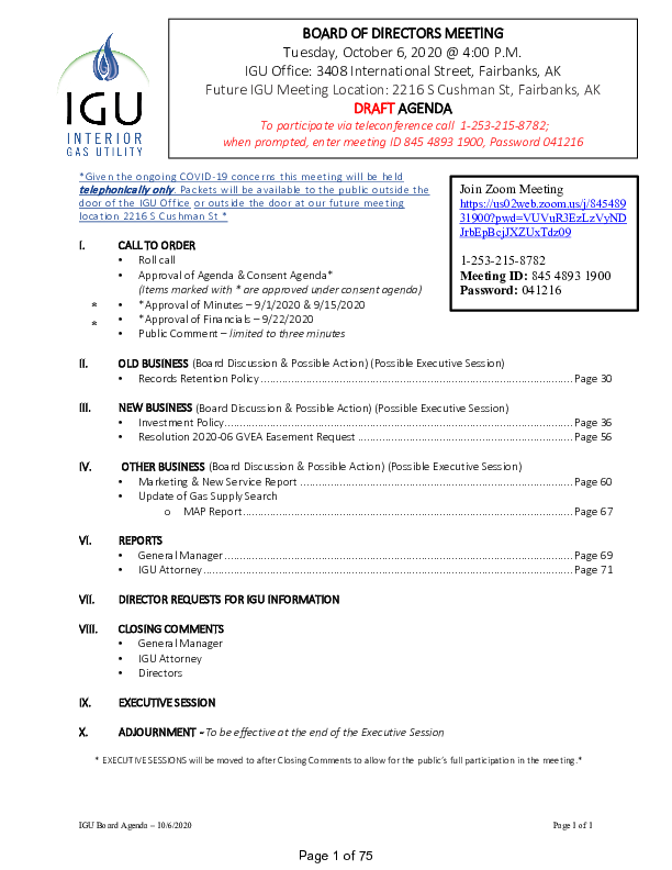10_6_2020 IGU Board Meeting Packet.pdf